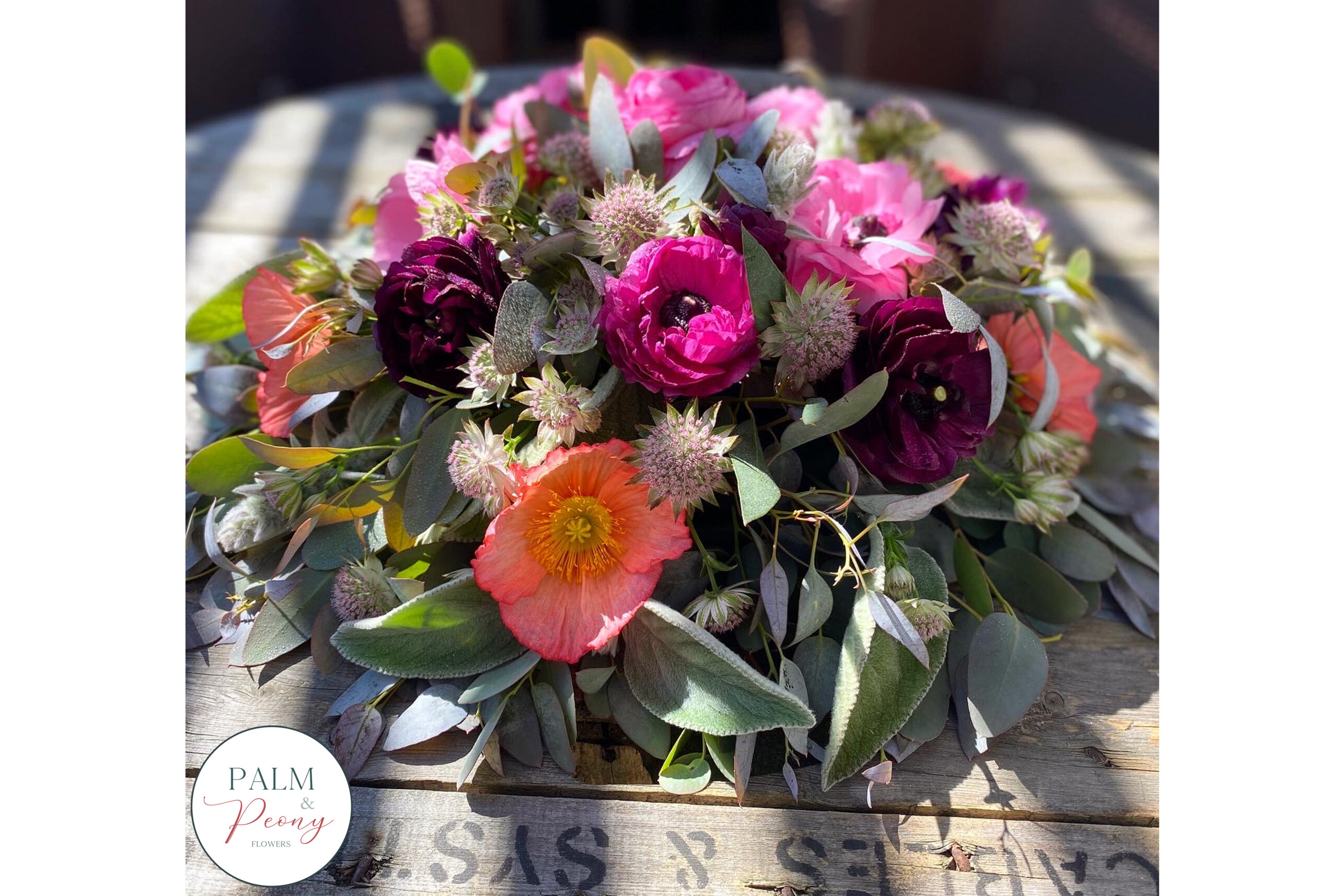 Funeral Flowers Posy